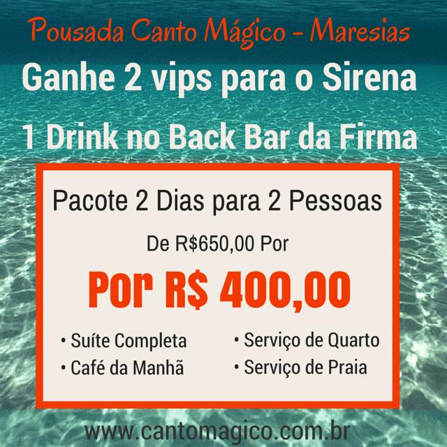 Atenção Atenção Mega Promoção  #Maresias #Feriadão #Sirena #BackdaFirma #Promoção #