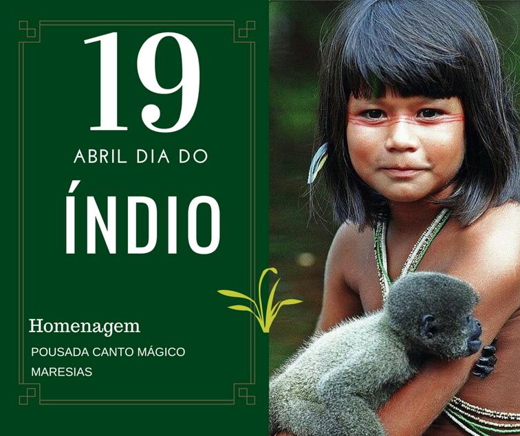 Homenagem aos Índios
