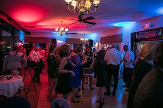 Clay Hill Farm wedding reception dance floor