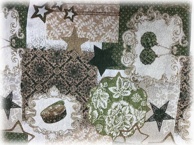 Новогодние скатертные ткани 5