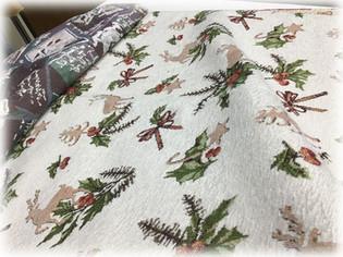 Новогодние скатертные ткани 6