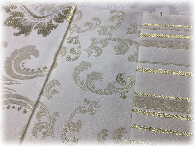 Новогодние скатертные ткани 9