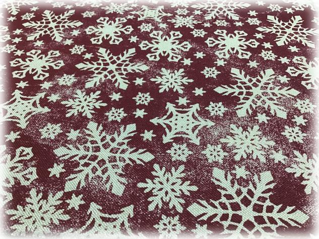 Новогодние скатертные ткани
