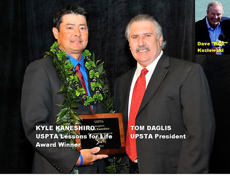 USPTA National Award for Lessons for Life