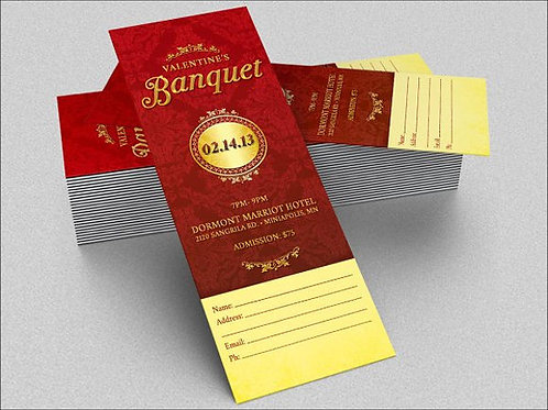 Free Banquet Ticket for Seniors Only