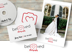 Beloved - wedding photographer logo