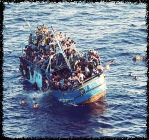 3 paar ogen waarmee naar de vluchtelingencirsis wordt gekeken