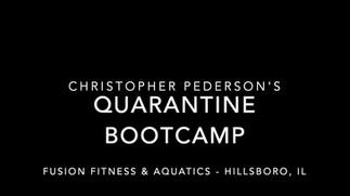 Quarantine Bootcamp