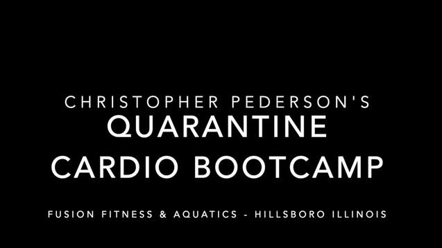 Quarantine Cardio Bootcamp