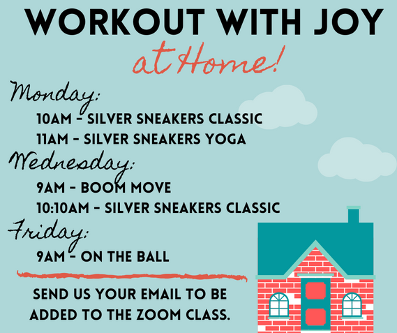 Workout with Joy