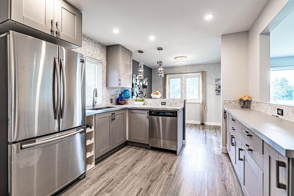 Calgary Real Estate Kitchen renovation