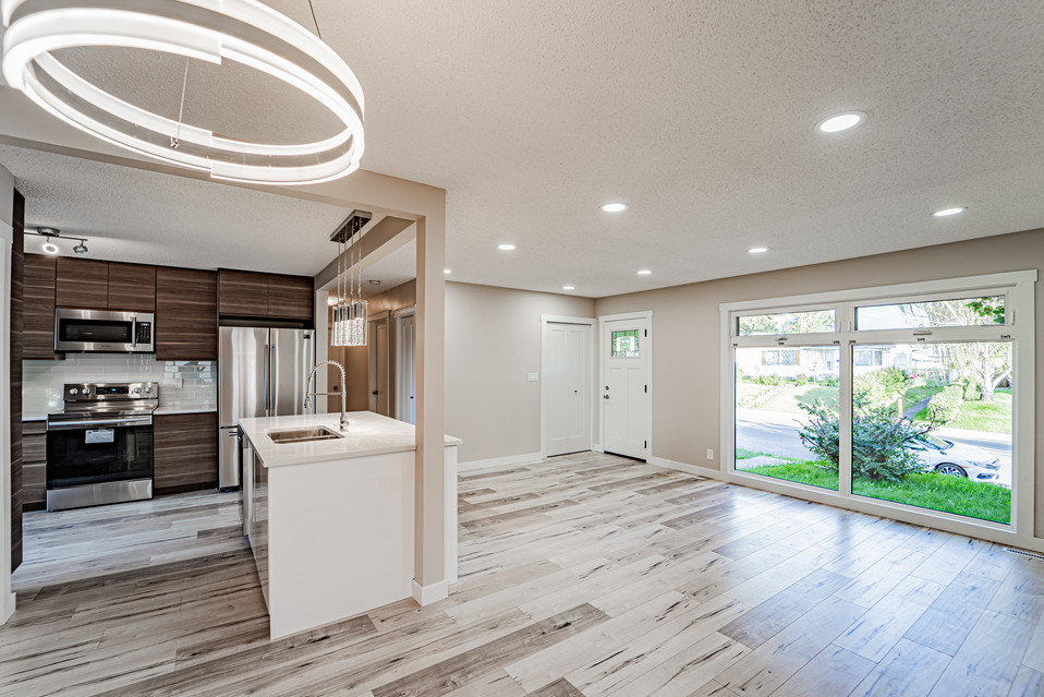Calgary Real Estate kitchen lights