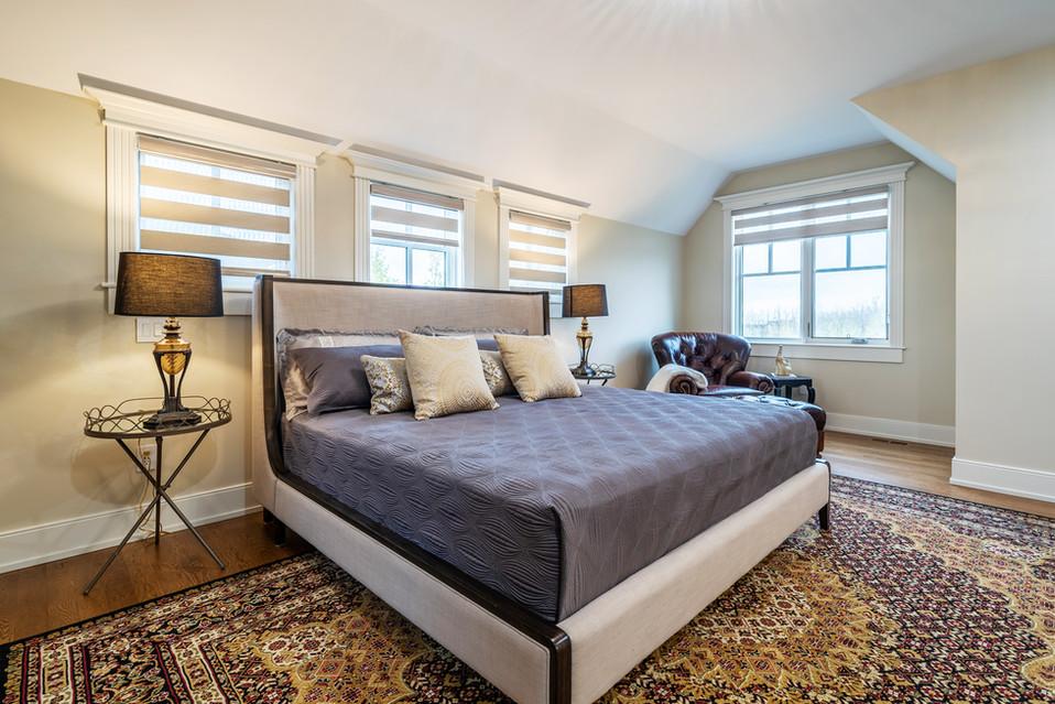 Calgary Real Estate Master Bedroom