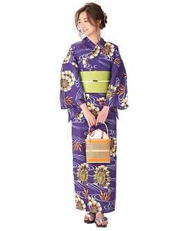 Mẫu yukata hiện đại kyoto