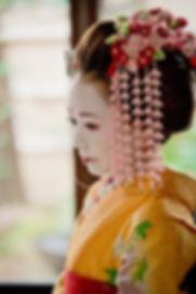 hóa trang maiko