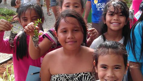 Waianae Boys & Girls of Hawaii on planting day 1.jpg