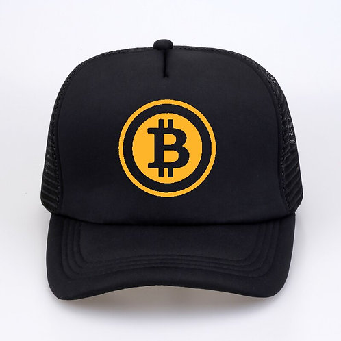 Bitcoin Hat | Baseball Trucker Cap | Summer | Hip Hop | Mesh Cool Cap