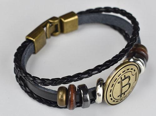 Antique  Bitcoin Bracelet | Handmade! | Summer Fashion
