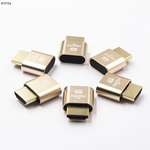 HDMI Virtual Display | 4K HDMI DDC EDID Dummy Plug | EDID Display Virtual Plug