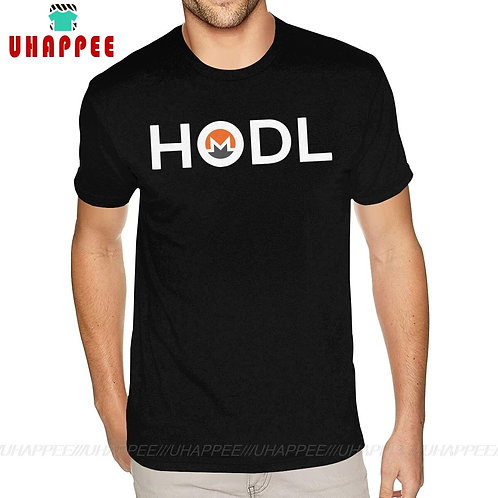 Monero HODL Cryptocurrency T-Shirt | XMR | Short Sleeve | 100% Cotton