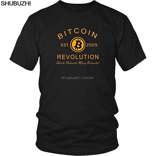Bitcoin Revolution T-Shirt | Cool Casual Unisex | Fashion T-Shirt