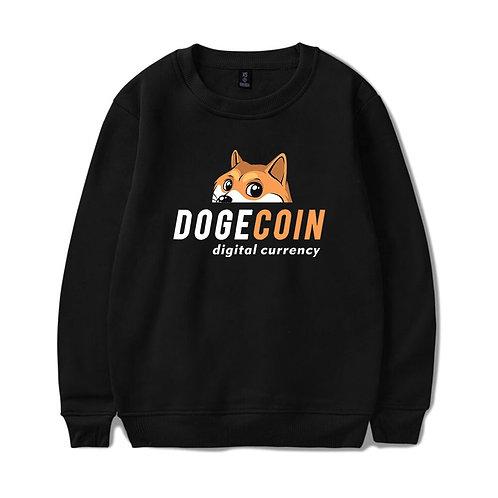 Dogecoin Sweatshirt | DOGE | Harajuku | Hip Hop Style | Casual Streetwear