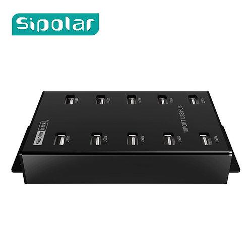10 Port Industrial USB Hub | Bitcoin Miner | 12V5A Power Adapter | BTC Mining