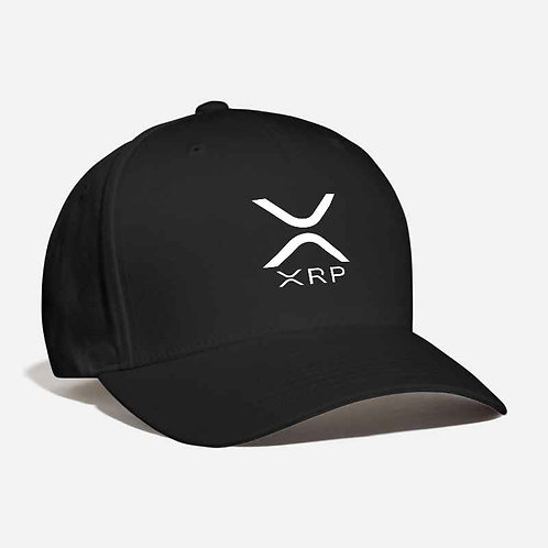 Ripple (XRP) LOGO Embroidered Fashion Curved Baseball Dad Cap