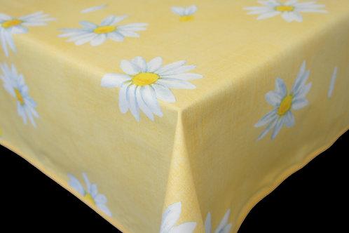 Flair Tischdecke eingefasst Daisy Yellow