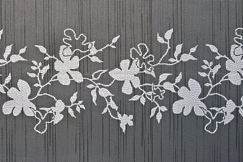 Tischset Miami Art.40507 Flowers Anthracite