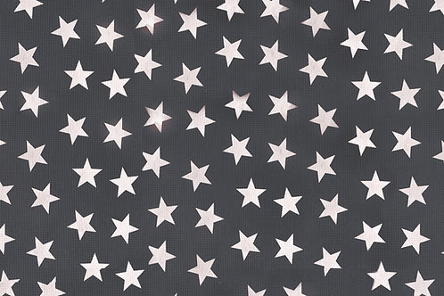 Tischset Miami Art.40504 Little Stars Anthracite White