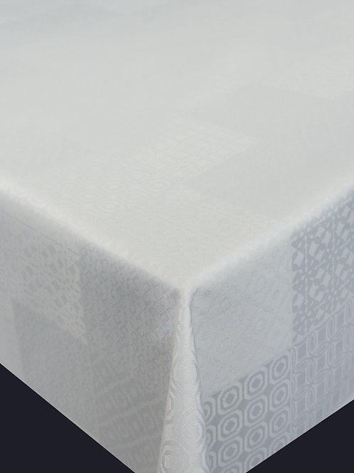 Flair Art Tischdecke weiß 63709
