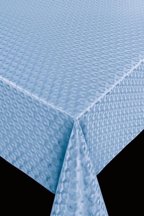 Scala 67510  3D Cube Blue  Breite: 140 cm
