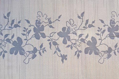 Tischset Miami Art.40514 Flowers Grey White