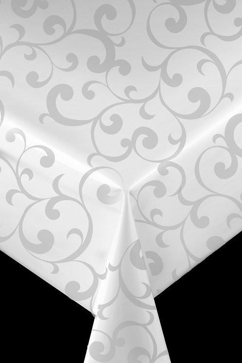 Trend 62802 Weiß mit Ranke Breite: 140 cm