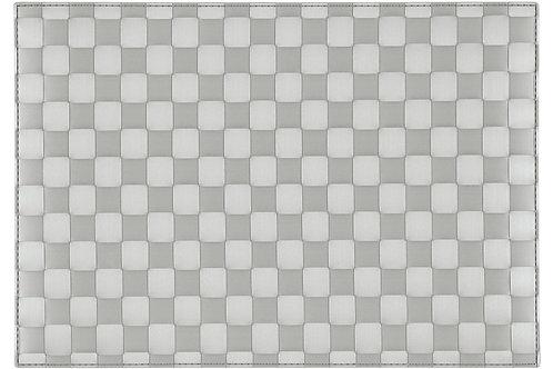 Tischset Quadro Art.40416 Light Grey