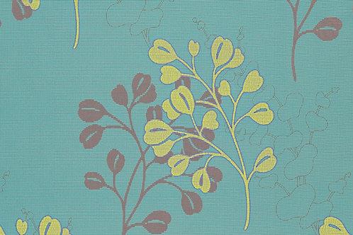 Tischset Miami Art.40502 Summer Heart Turquoise Yellow