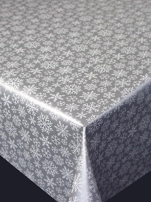 Trend 62805 Snowflake Silver Metallic Breite: 140 cm