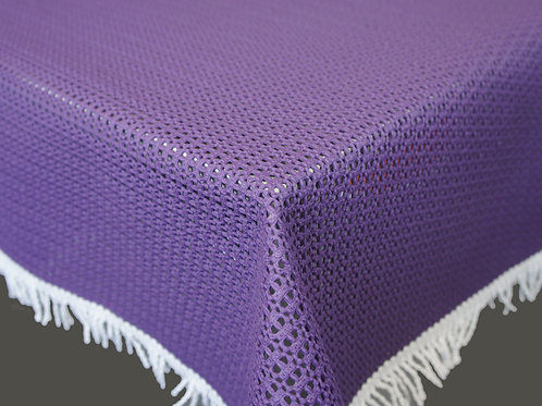 Gartentischdecke Rustikal Violett