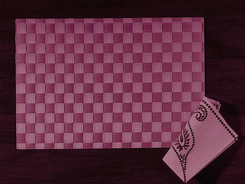 Tischset Quadro Art.40414 Purple