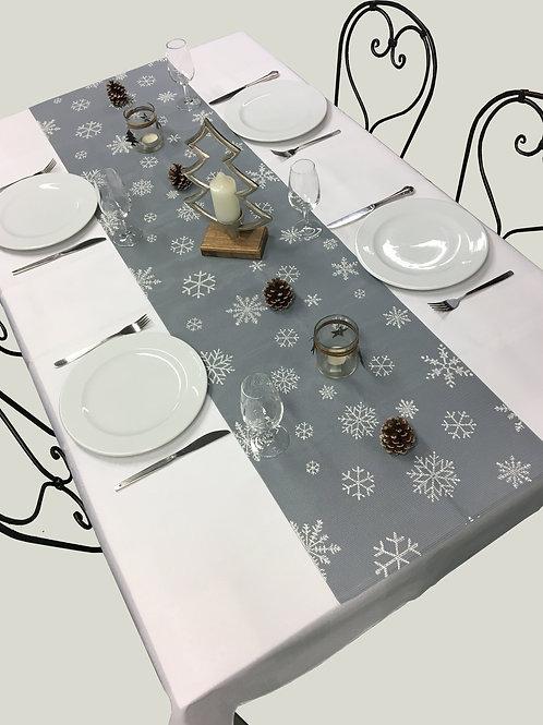2. Wahl Tischläufer Snowflake