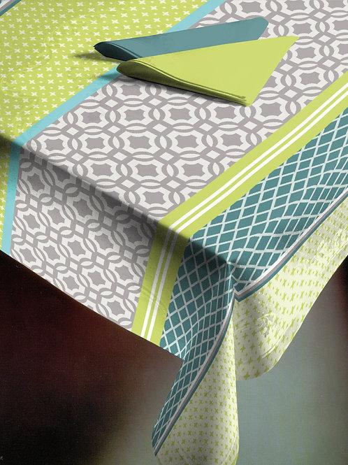 Flair Emotion Tischdecke gesäumt Modern Stripes