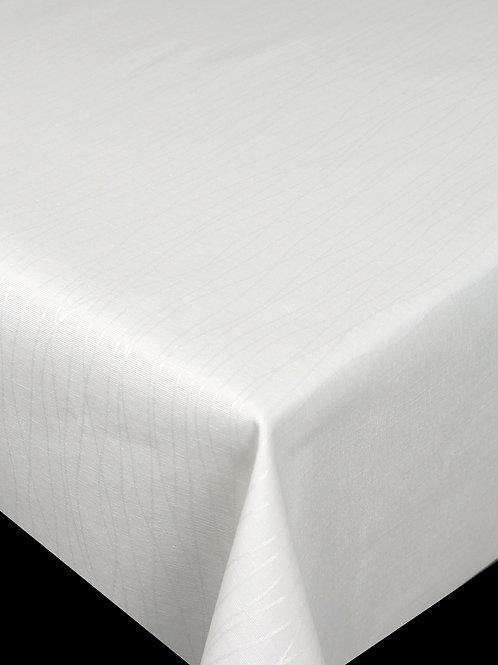 Flair Royal Tischdecke gesäumt  Stripes White