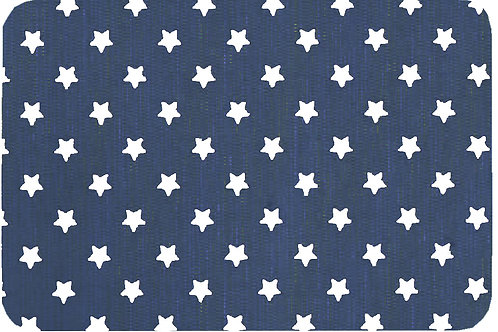 Tischset Print Art.40671 Little Stars Grey/White