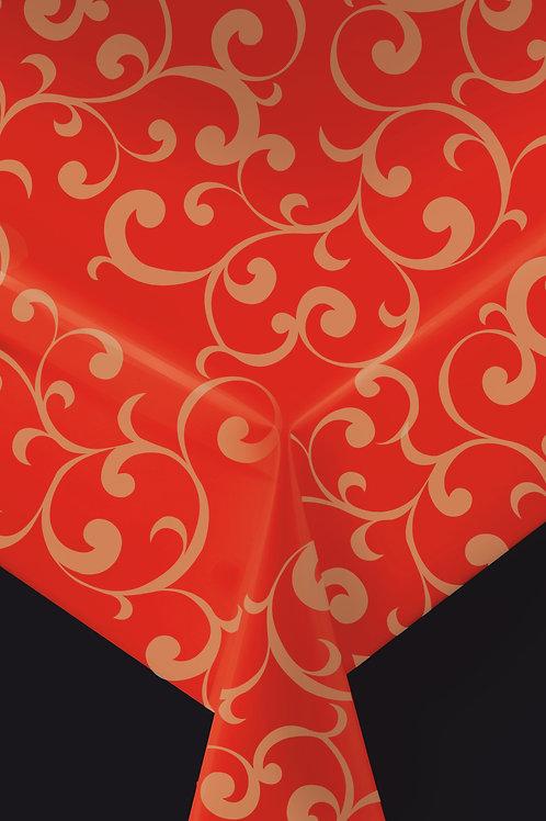 Trend 62803 Rot mit Ranke Breite: 140 cm