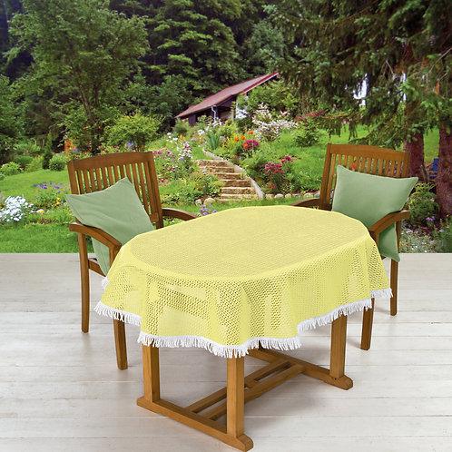 Gartentischdecke Rustikal Gelb
