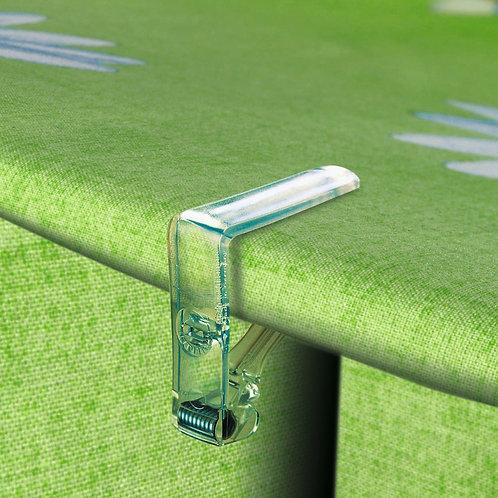 Tischdeckenklammer Art.65508 Glasklar