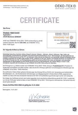 D03-0583-Zertifikat Öko-Tex-friedola-de