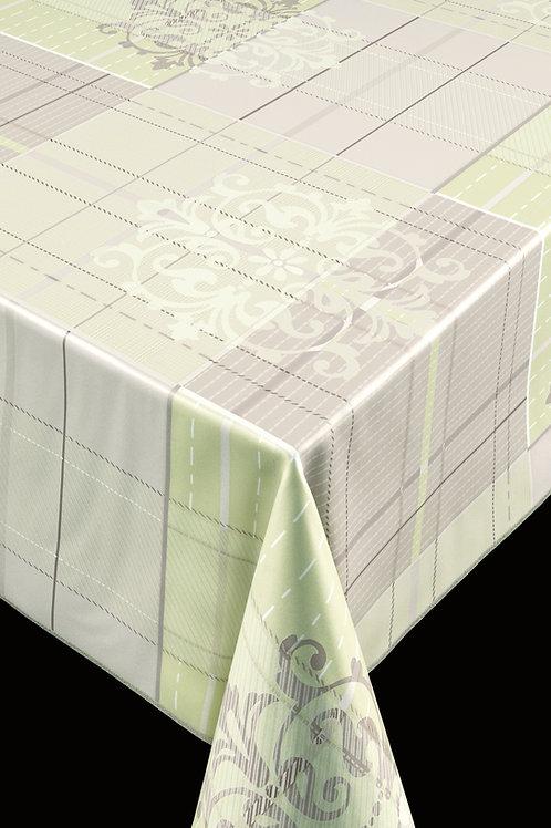 Trend 64003 Ornament Grey Green Breite: 140 cm