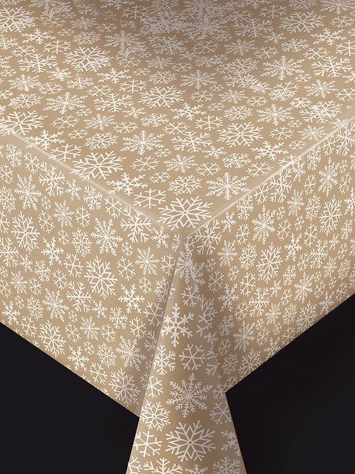 Trend  Snowflake Gold Metallic Breite: 140 cm